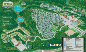 Award winning rv campground in lake george full hookups for Lake george cabins and rv park lake george co