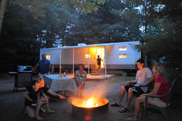 Rv resort packages specials for your lake george for Lake george cabins and rv park lake george co