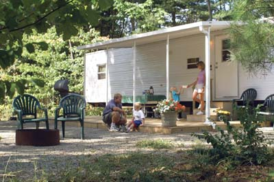 Comfortable accommodations, private Adirondack lodging