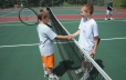 All-weather outdoor tennis courts located in east end