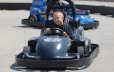 Take a quick drive around a go kart track (The Fun Spot)