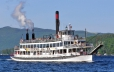 Tour the lake on a steamboat cruise (Lake George Steamboat Company)