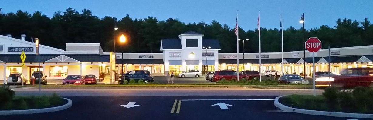 Great shopping at the newly expanded outlet center