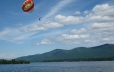 Parasail on Lake George and see the beauty from a bird's eye view