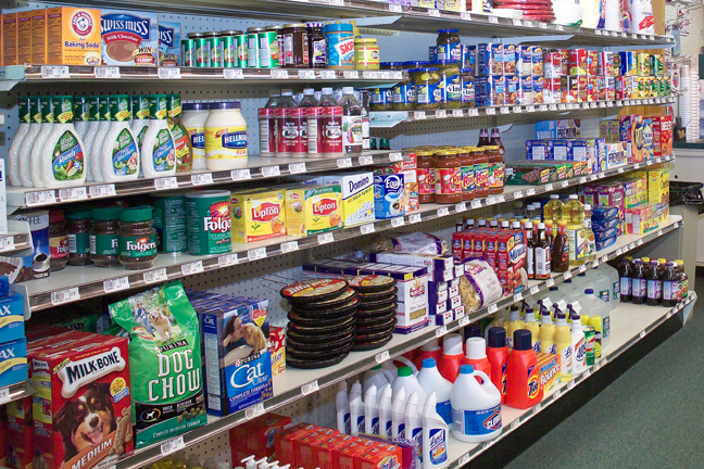 We have all your essential grocery needs in our trading post