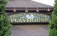 French Mountain Playhouse outdoor sign
