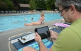 Relax by the pool using your tablets or laptops – Free Wi-Fi throughout the park