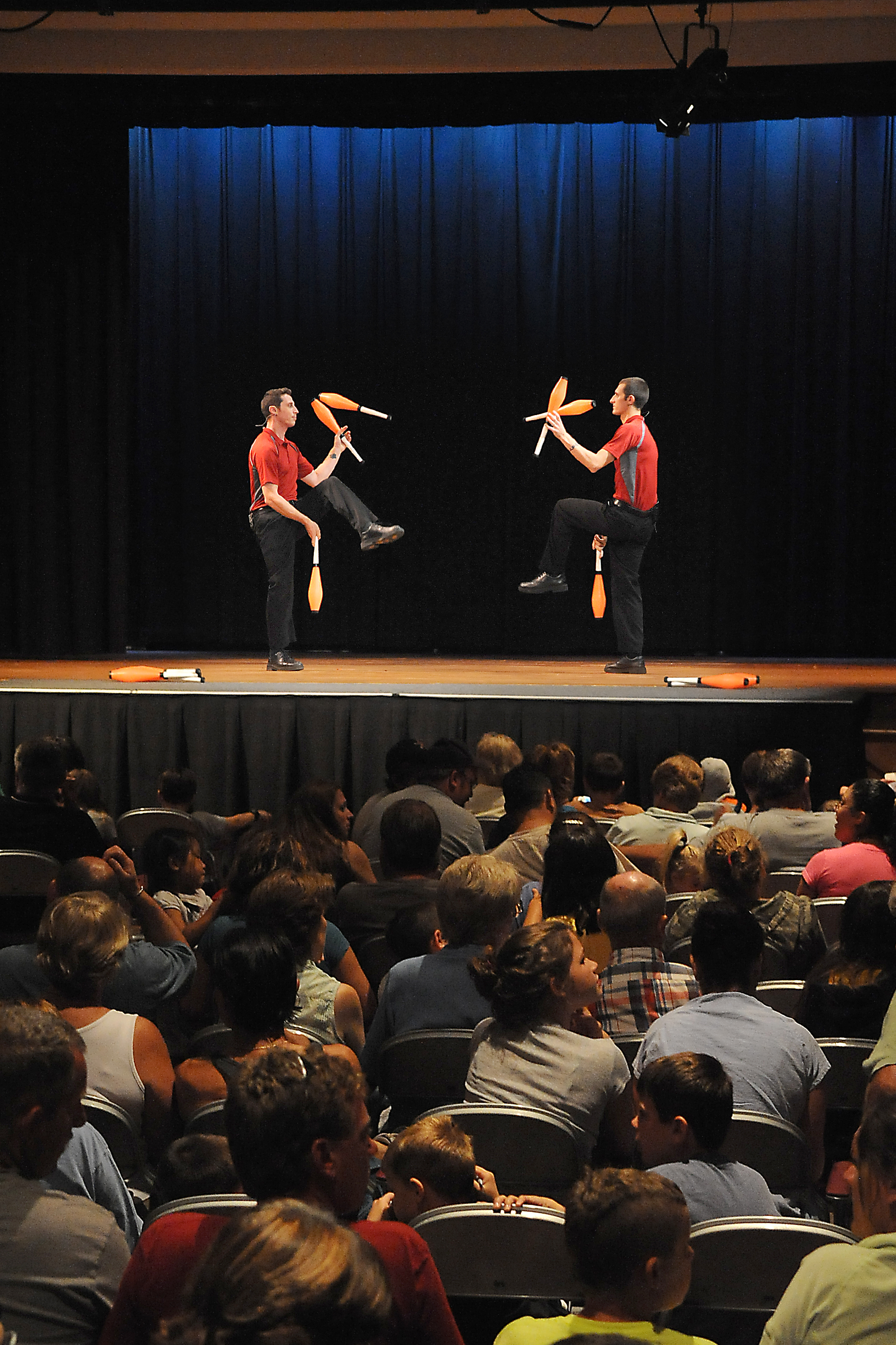 2 High Energy Juggling at our French Mountain Playhouse