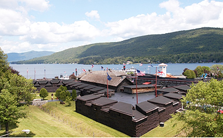 Take a tour of historic Fort William Henry in downtown Lake George