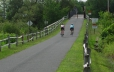 The Warren County Bike Trail is 8 miles long from Glens Falls to Lake George