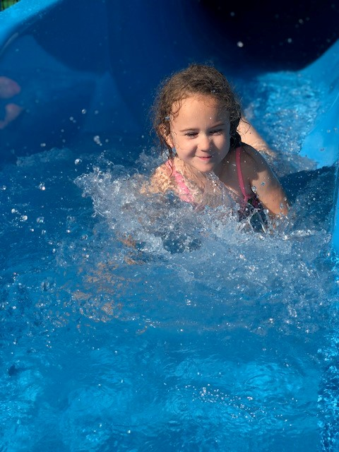 Splashing, Smiling, and Sliding
