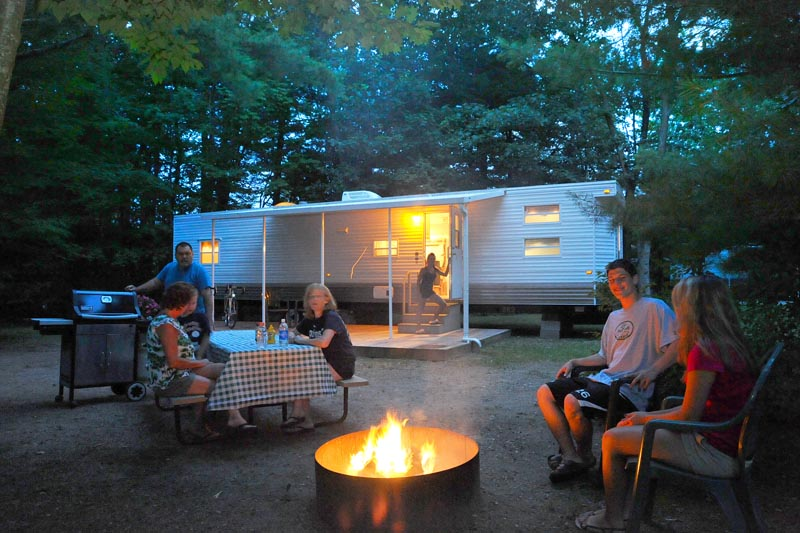 On Site RV Rental Unit – Site 369