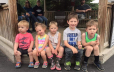 Kids Waiting on the trolley
