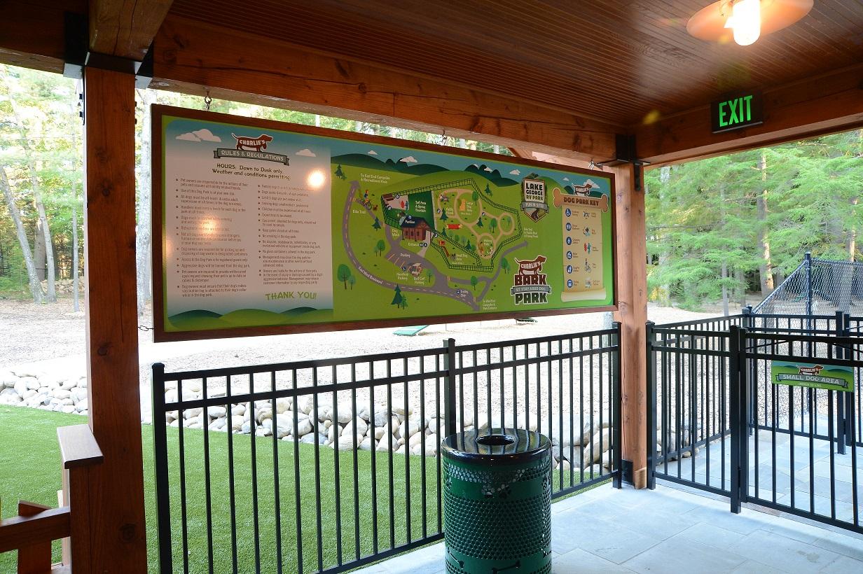 Bark Park Map