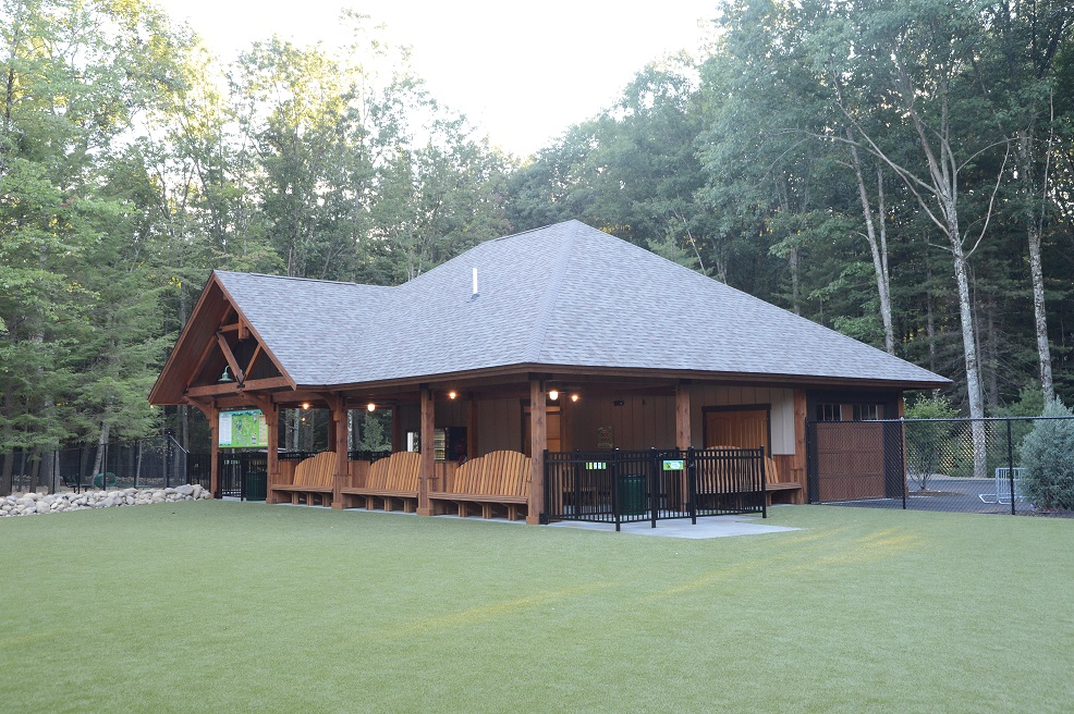 Charlie's Bark Park Pavilion