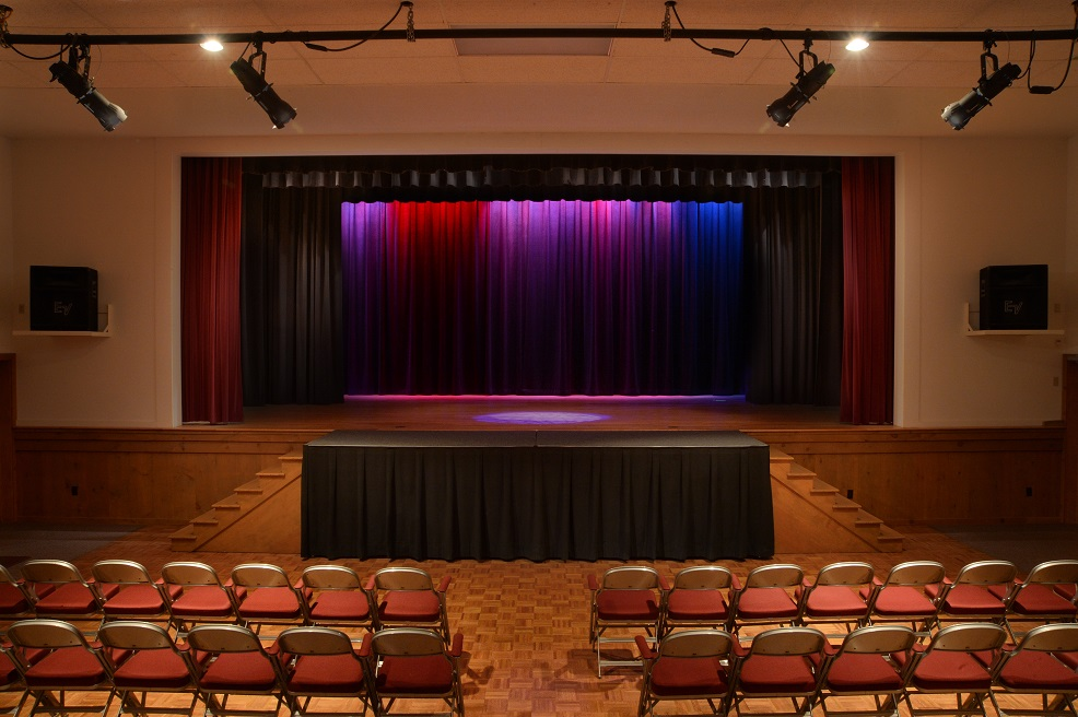 Air-conditioned professional theater – French Mountain Playhouse