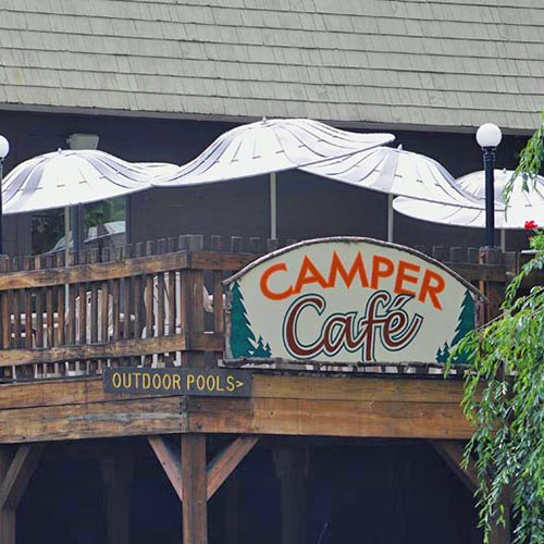 Camper Cafe- outdoor patio