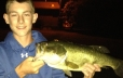 Check out this Bass caught in our fishing pond