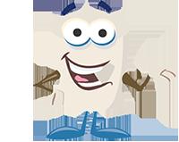 Toasty mascot
