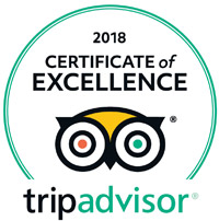 Certificate of Excellence- Trip Advisor