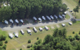 Aerial of our outer loop campsites