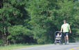 Bike trails are for strollers too!