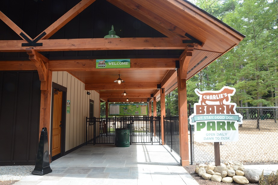 Charlie's Bark Park is open daily dawn until dusk