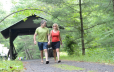 Covered bridge access to Warren Cty Bike Trl & French Mtn Hiking Trl