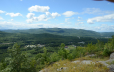 View from summit of French Mountain Hiking Trail