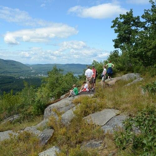 Family on French Mountain